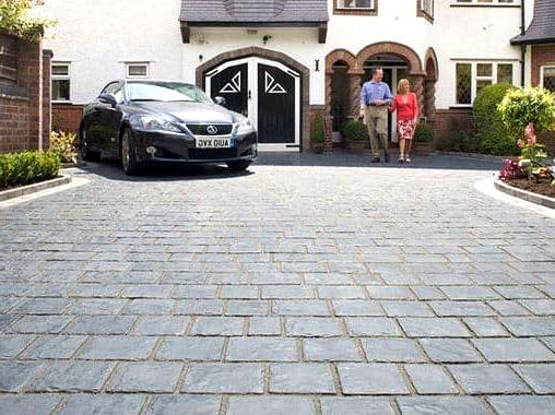 -Breathtaking-basalt-driveway
