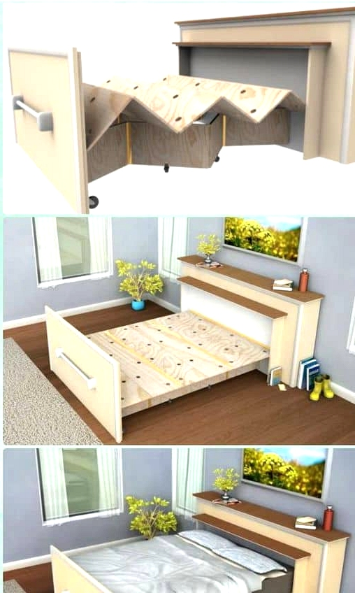 -A-bed-frame-that-folds-like-a-Japanese-fan