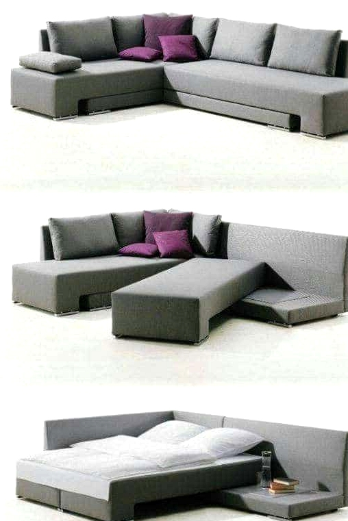 -The-L-shaped-couch-bed