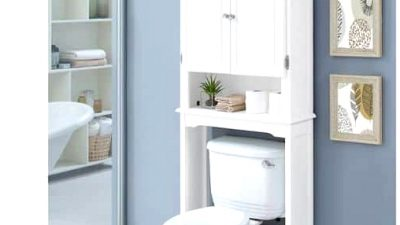 25 Over the Bathroom Storage Concepts in 2020