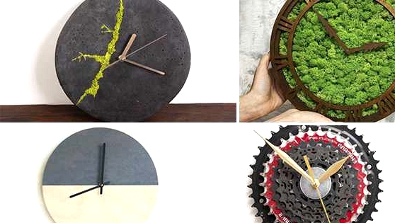 16 Inventive Wall Clock Designs That Will Catch Your Eye