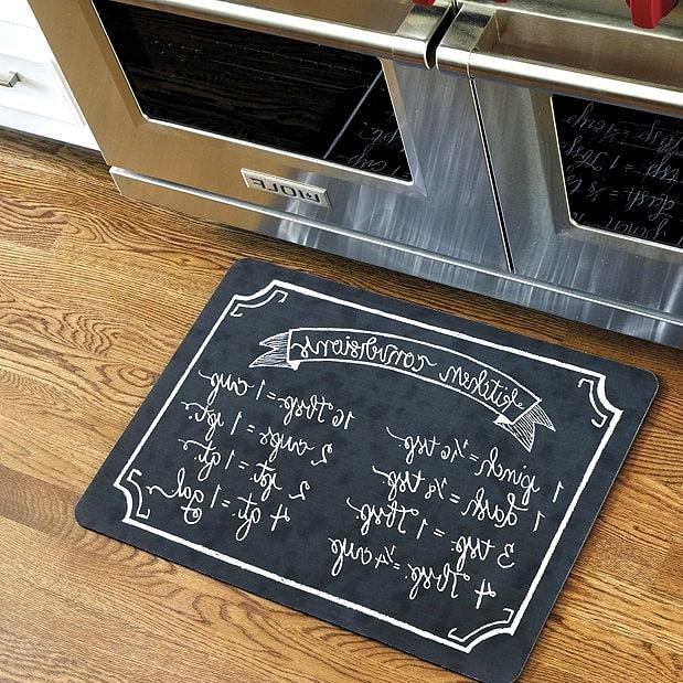 Get a Fun Cooking-Themed Kitchen Mat