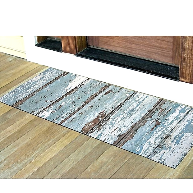 Go Rustic With a Weathered Wooden Look