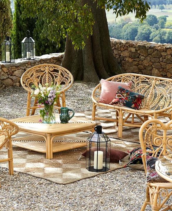 6 Fairly Rattan Armchairs for the Backyard