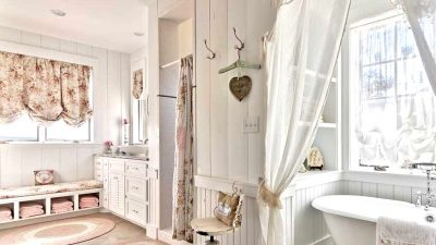 15 Whimsical Shabby-Stylish Lavatory Interiors That Will Appeal You
