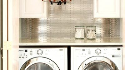 20 Beautiful Small Laundry Room Makeover Concepts