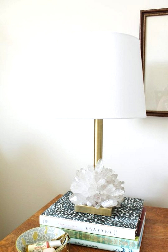 Chic Crystal Table Lamp DIY