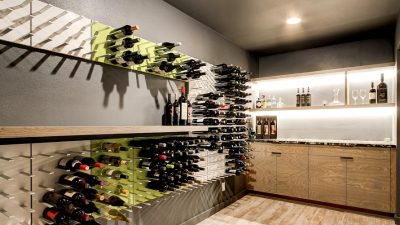 16 Refined Mid-Century Fashionable Wine Cellar Designs