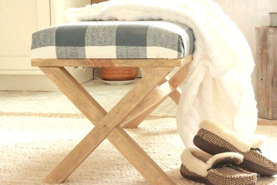 Make this X bench from scratch!