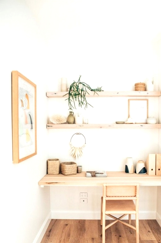 Turn that awkward nook you have into a functional home office!