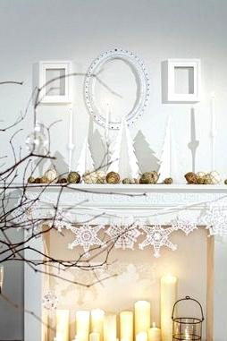 50 Charming Rustic Farmhouse Winter Decor Concepts
