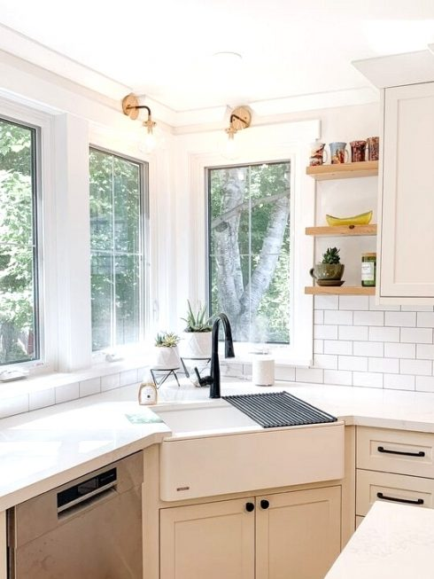 Get a Large, Deep Kitchen Sink in White