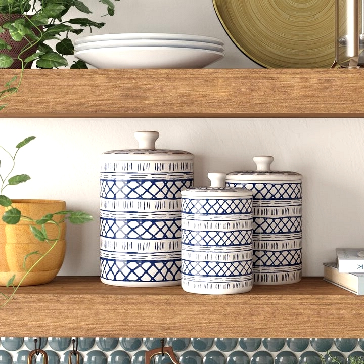 Use Decorative Food Storage Containers