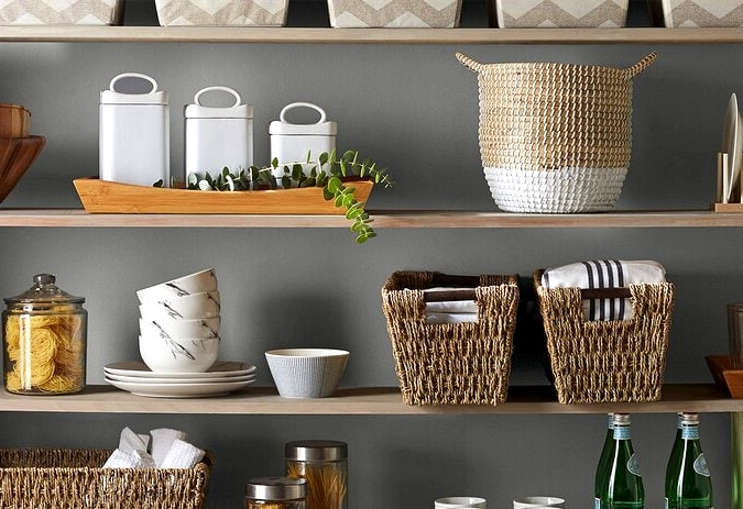 Opt for Wood Shelving