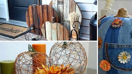 8 Artistic DIY Pumpkin Decor Concepts From Issues Different Than Pumpkins