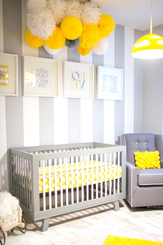 Yellow Baby Rooms You Would Absolutely Love to Have