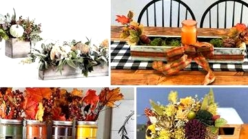 15 Vibrant Fall Centerpiece Designs To Add To Your Desk Decor