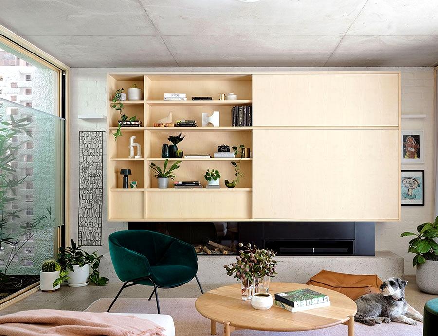 Architect's fashionable house in Sydney