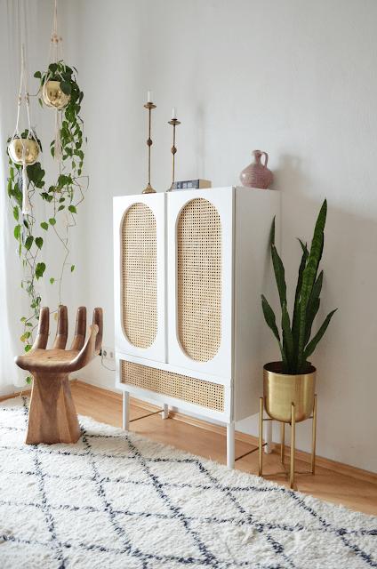 Boho Style IKEA Hacks With Cane