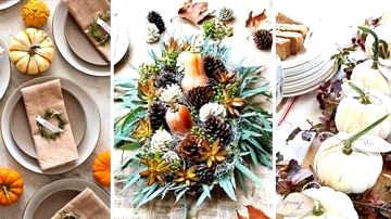 10 Magical DIY Thanksgiving Desk Decor Concepts Everybody Will Love