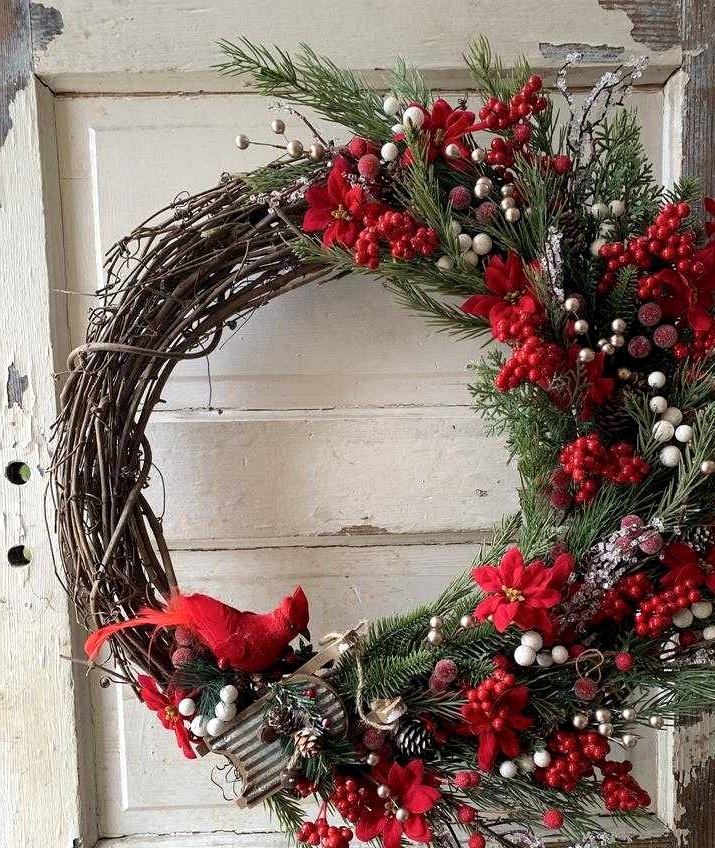 16 Wonderful Winter Wreath Designs That Will Dazzle You