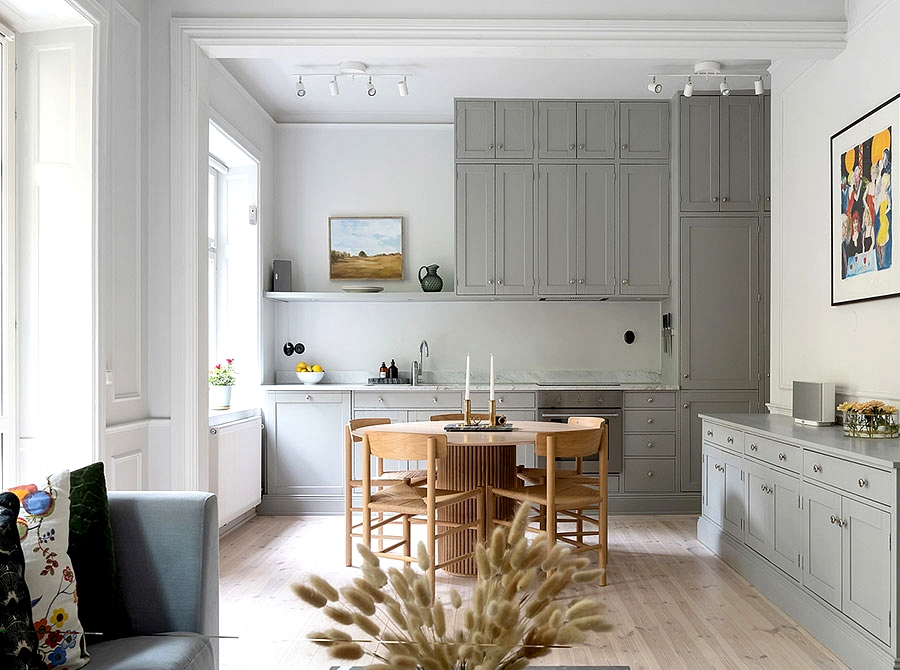 Shiny and exquisite fashionable classics in Stockholm (58 sqm)