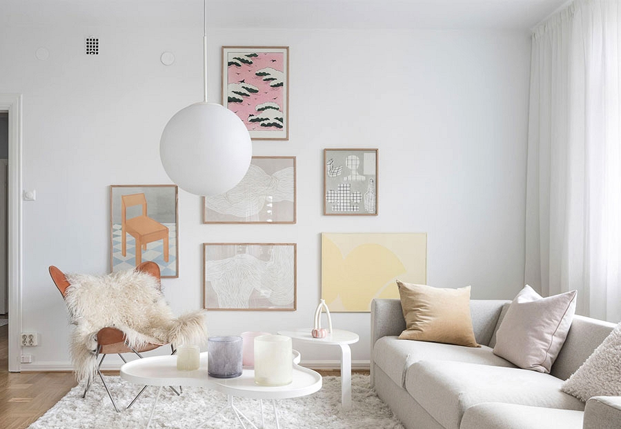 Lightness of being: ethereal condo on a bundeg in Sweden (78 sqm)