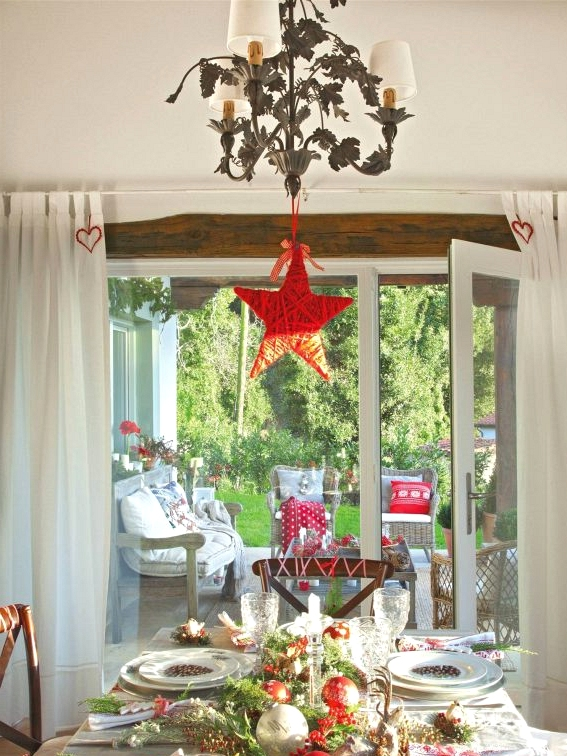 10 Ideas of Christmas Centerpieces - Ideas to Dress the Table (Part II)