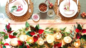 10 Concepts of Christmas Centerpieces
