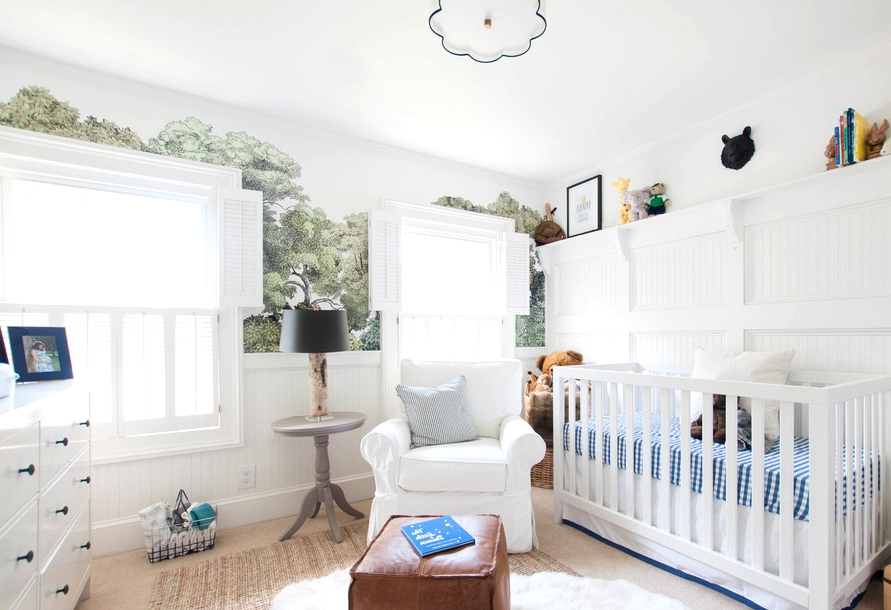 16 Adorable Traditional Nursery Interior Designs