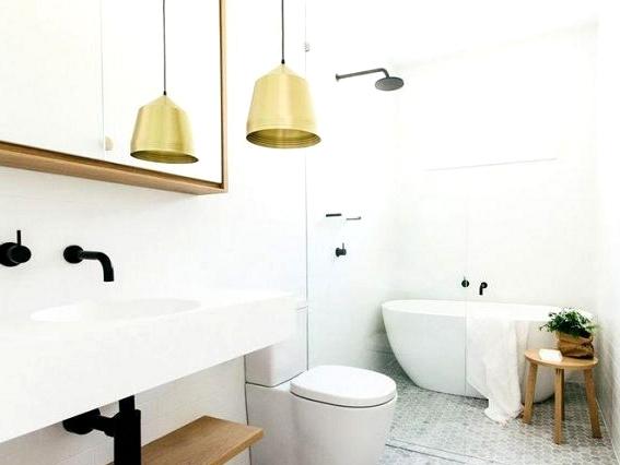 Bathrooms With Metals & Gilt Details