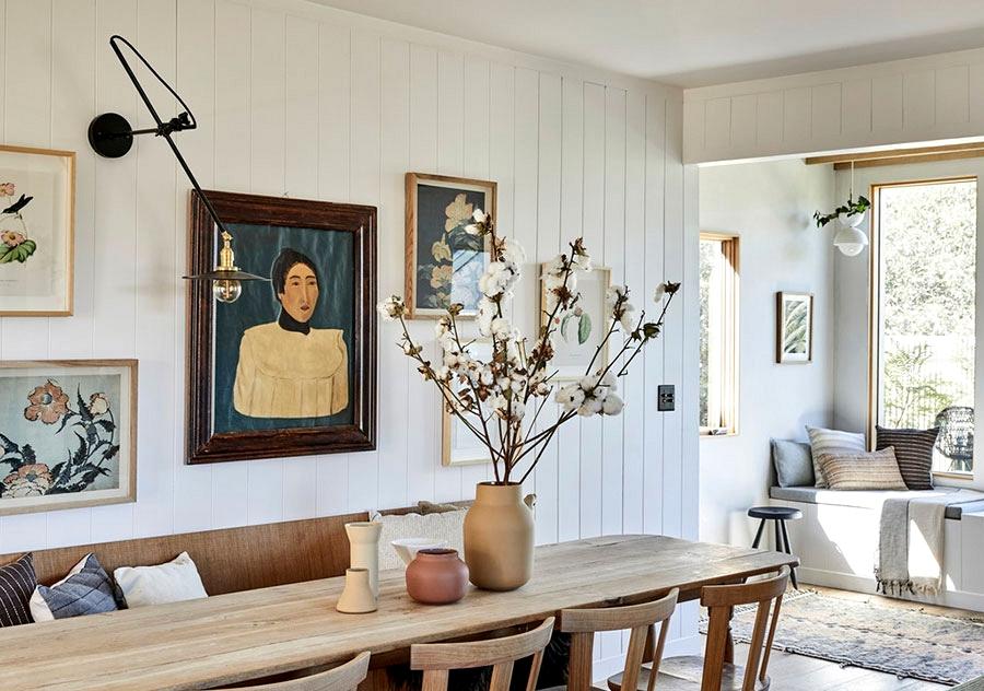 Japandi fashion within the design of Losa Angeles residence