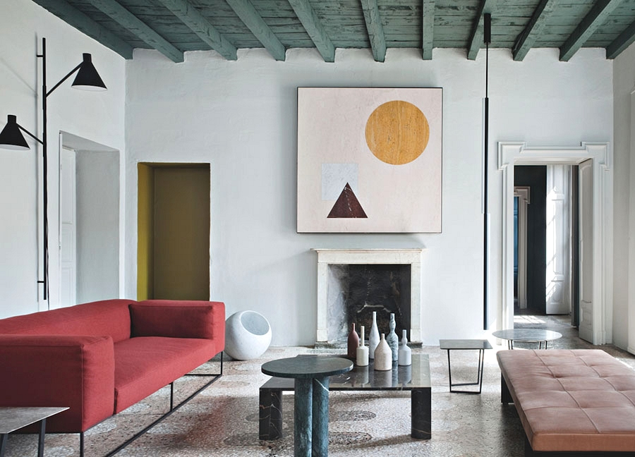 Dwelling not for everybody: distinctive house of head of Salvatori model in Milan