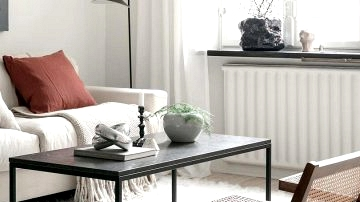 Small Swedish condo in white (45 sqm)