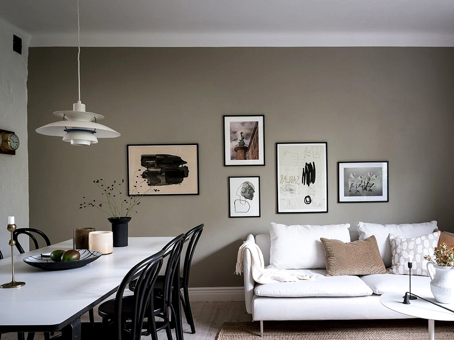 Like in a home: condo with an attic in Goteborg