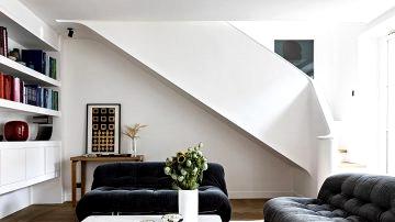 Fashionable duplex in Paris