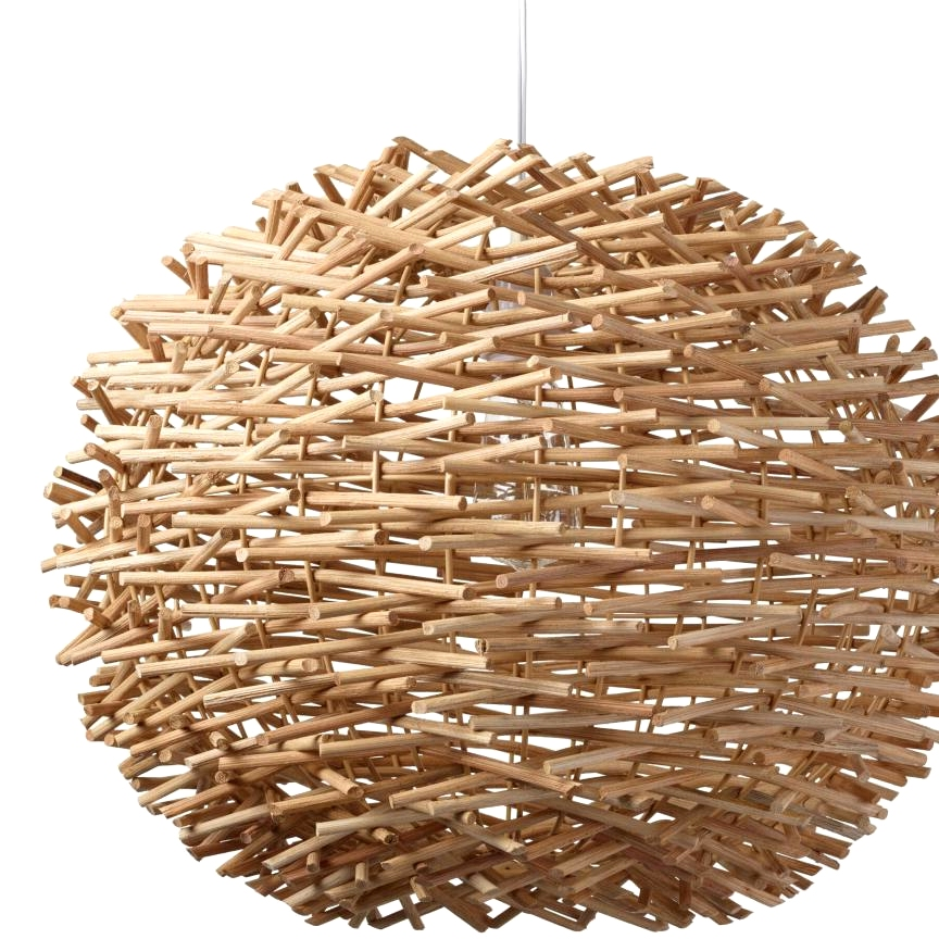 This nest inspired boho lighting idea from World Market is trendy and affordable!