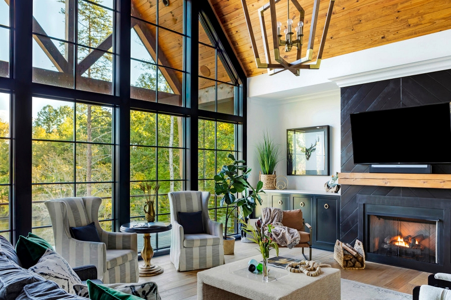 16 Gorgeous Farmhouse Residing Room Designs That Will Make Your Jaw Drop