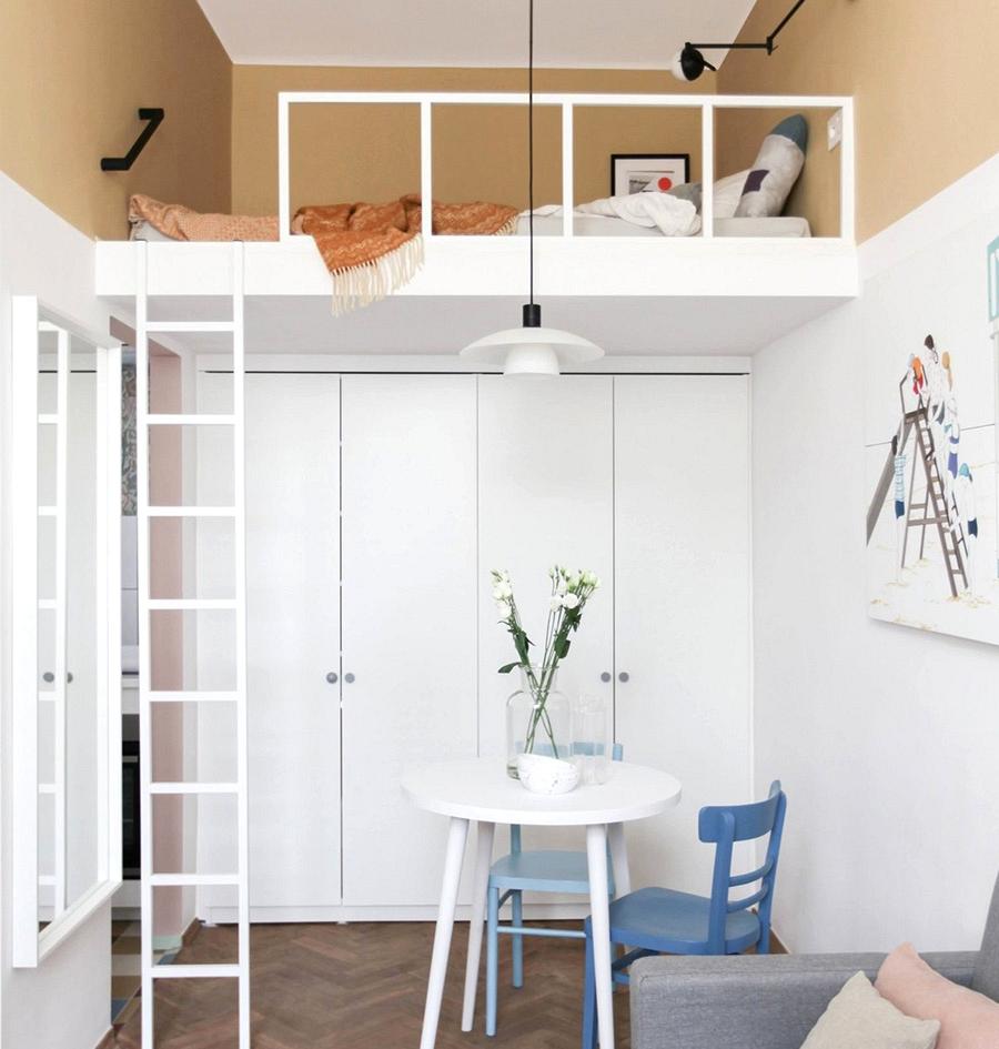 Unimaginable room-sized condo in Warsaw (23 sqm)