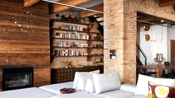 Century-old loft in Chicago that obtained attention-grabbing new design