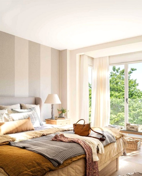 10 Fashionable And Fashionable Bedrooms