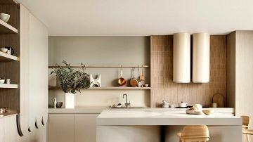 Trendy kitchen as artwork: design by Australian studio Kennedy Nolan