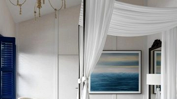 Magnificent fashionable classics in design of recent residence close to St. Petersburg (250 sqm)