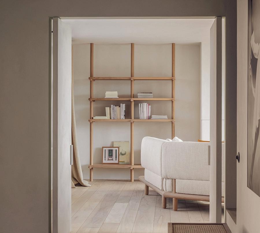 Heat minimalism impressed by nature by Belgian designer Nathalie Deboel