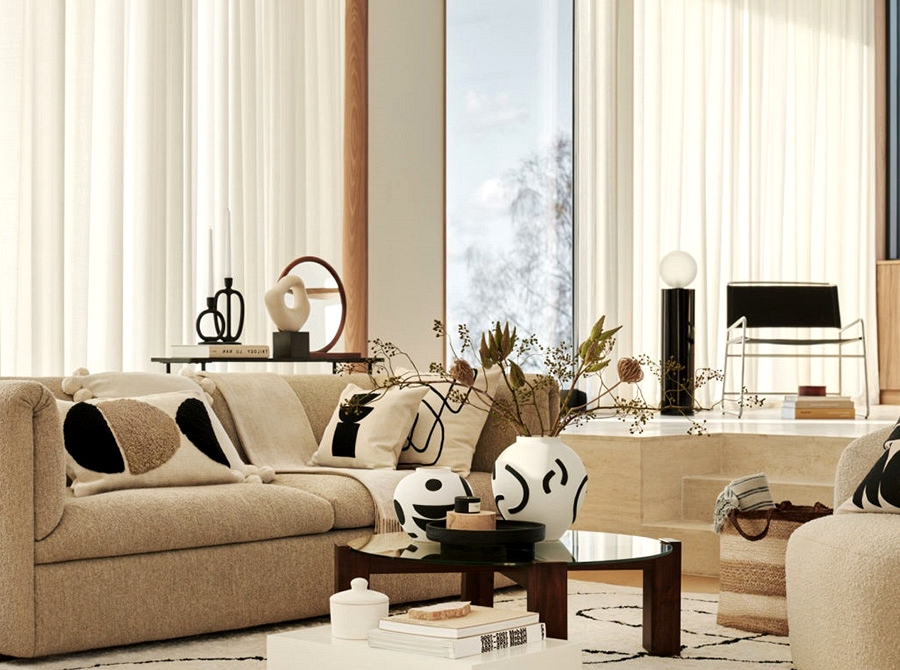 Multifunctional design within the new assortment by HM House