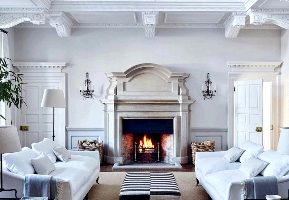For th elove of white: beautiful English mansion of The White Firm's founder