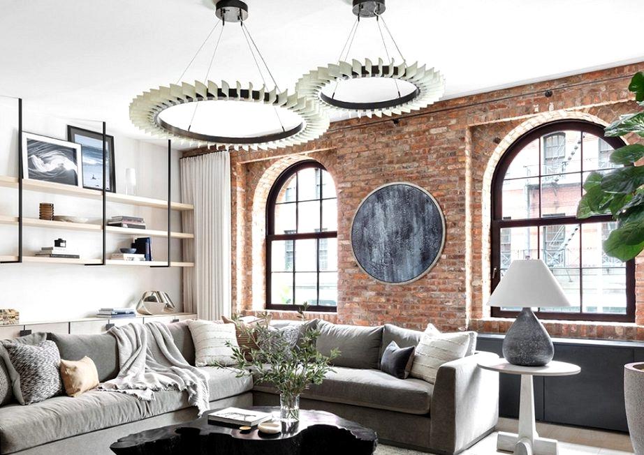 Elegant loft with a children room in New York