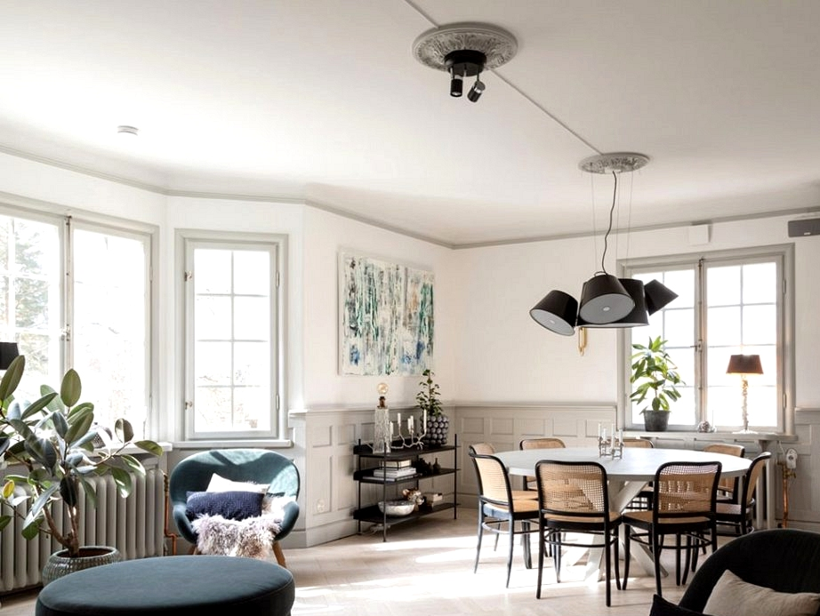 Good renovation of conventional villa in Sweden