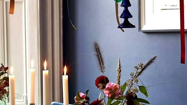 Moody Christmas with colourful decor: huge doze of festive inspirations by John Lewis
