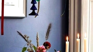 Moody Christmas with colourful decor: large doze of festive inspirations by John Lewis